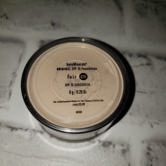 Bare Minerals Original Loose Foundation Fair C10